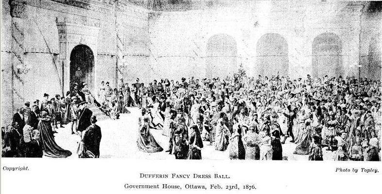 The Earl of Dufferin Fancy Dress Ball 1876