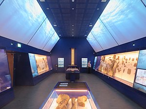 The Etches Collection - View of the main gallery in The Etches Collection