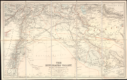 The Euphrates Valley - Syria, Kurdistan, et cetera by Edward Stanford Ltd. - WDL.png