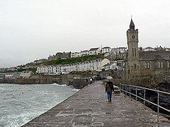 The Institute and Harbour Road, Porthleven - geograph.org.uk - 230482.jpg