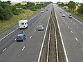 The M5 near Adsborough , looking north - geograph.org.uk - 1397016.jpg