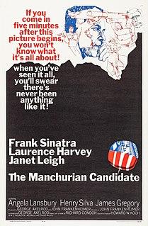 <i>The Manchurian Candidate</i> (1962 film) 1962 American psychological political thriller film
