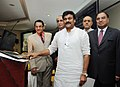 The Minister of State (Independent Charge) for Tourism, Shri K. Chiranjeevi launching the web based Public Service Delivery System for Hotel Approval & Classification, in New Delhi on April 03, 2013.jpg