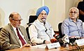 The Minister of State for Housing and Urban Affairs (IC), Shri Hardeep Singh Puri addressing the press conference on Delhi related issues, in New Delhi .jpg