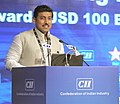 The Minister of State for Information & Broadcasting, Col. Rajyavardhan Singh Rathore addressing the inaugural session of the 4th Edition of CII Big Picture Summit 2015, in New Delhi on October 19, 2015.jpg