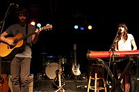 The Narrative opening Eisley show in 2011.jpg