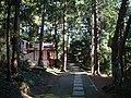 The Northway to Hanabushijinja.JPG