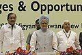 "The Prime Minister, Dr. Manmohan Singh at the Conference on ""Building Infrastructure Issues and Opportunities"", in New Delhi on October 07, 2006 (1).jpg"