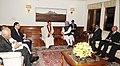 The Prime Minister, Dr. Manmohan Singh meeting the President of the Democratic Socialist Republic of Sri Lanka, Mr. Mahinda Rajapaksa, in New Delhi on September 20, 2012 (1).jpg