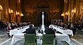 The Prime Minister, Shri Narendra Modi and the Prime Minister of Sweden, Mr. Stefan Lofven interacting with the top business leaders at the Roundtable Meeting with Swedish CEOs, at City Hall, in Stockholm, Sweden (1).JPG