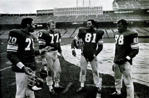 Purple People Eaters - The Purple People Eaters in January 1970 at Metropolitan Stadium.