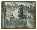 The Red Roofs. Study from the South of France (Anna Boberg) - Nationalmuseum - 20544.tif