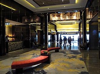 The Ritz-Carlton, Hong Kong - Image: The Ritz Carlton Hong Kong Level 103 Lobby
