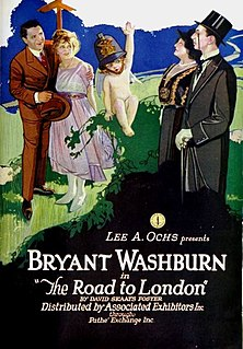 <i>The Road to London</i> 1921 film directed by Eugene Mullin