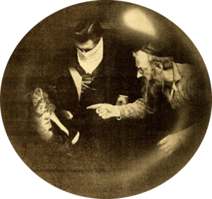 The Secret of the Submarine - Film still from Chapter 4(1916)