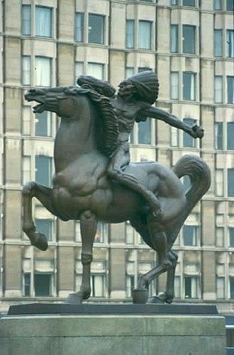 Ivan Meštrović - Spearman in Chicago (1928)