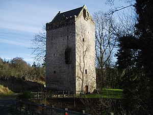 The Tower of Hallbar. This Tower House was bui...