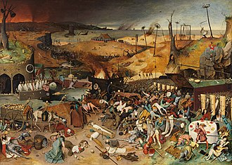 Habsburg Spain - The Triumph of Death (c. 1562) by Pieter Brueghel the Elder reflects the increasingly harsh treatment the Seventeen Provinces received in the 16th century