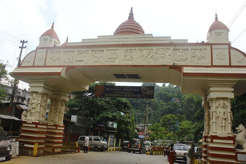 File:The entrance of the Kamakhya Temple, Guwahati.JPG