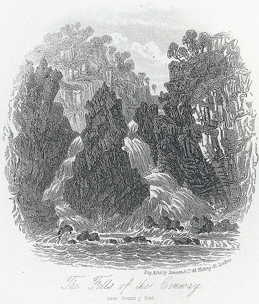File:The falls of the Conway, near Bettws y Coed.jpeg