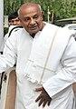 The former Prime Minister, Shri H.D. Deve Gowda calling on the Prime Minister, Shri Narendra Modi, in New Delhi on June 03, 2015 (cropped).jpg
