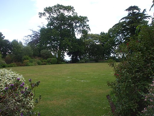 The gardens, Dunster Castle (geograph 2457012)