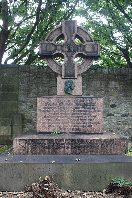 The grave of Thomas Thomson, Dean Cemetery The grave of Thomas Thomson, Dean Cemetery.jpg