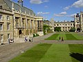 The west side of Great Court, Trinity College, Cambridge - geograph.org.uk - 765818.jpg