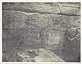 Thebes. Palais de Karnak. Sculptures extérieures du Sanctuaire de granit MET DP116181.jpg
