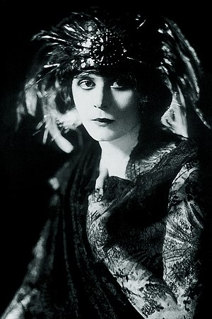 The Blue Flame (play) - Theda Bara as Ruth Gordon
