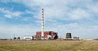 Thermal power plant in Kalush, Ukraine.jpg