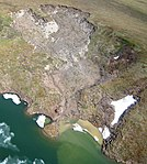 Thermokarst failure of permafrost.jpg