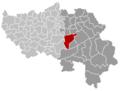 Theux Liège Belgium Map.png