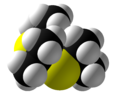 Thioacetone Trimer Space Fill.png