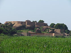 View of Thirumayam Fort