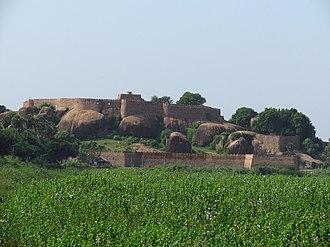 Thirumayam - View of Thirumayam Fort