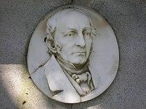 Thomas O. Larkin grave relief 1.JPG