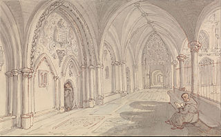 The Cloisters of a Monastery
