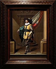 Portrait of Loef Vredericx (1590-1668) as an Ensign