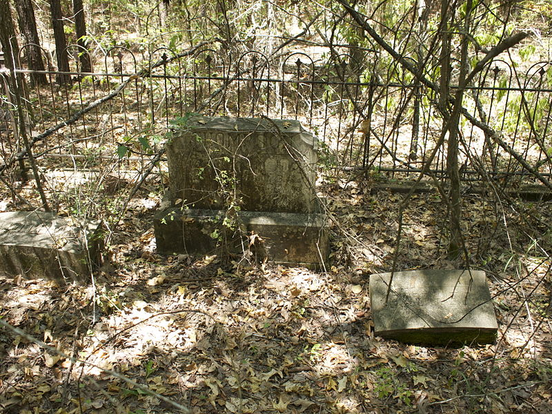 File:Thompson cage at Rochelle whites cemetery.jpg