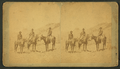 Three men on horseback, by Thurlow, J., 1831-1878.png
