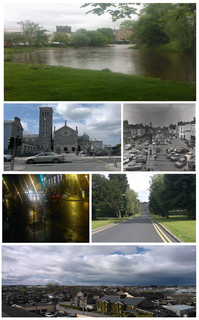 Thurles Town in Munster, Ireland