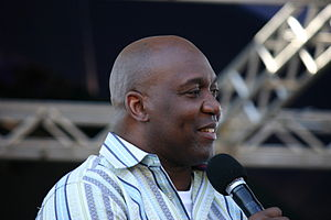 Thurman Thomas - Thomas at ESPN The Weekend in 2010
