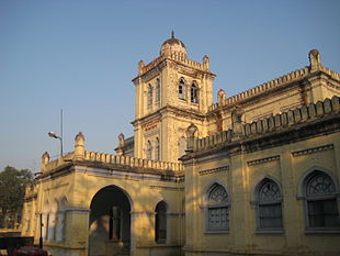 """Tilak Hall is the headquarters of Faiazabad and <a href=""""http://search.lycos.com/web/?_z=0&q=%22Ayodhya%22"""">Ayodhya</a> municipal board."""