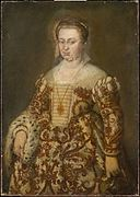 Titian or workshop - Portrait of a Lady with an Ermine.jpg