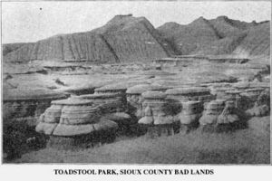 Toadstool Geologic Park - Toadstool Park in 1905