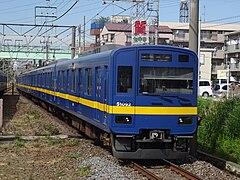 「フライング東上」カラーになった51092編成(2016年10月12日 柳瀬川駅)