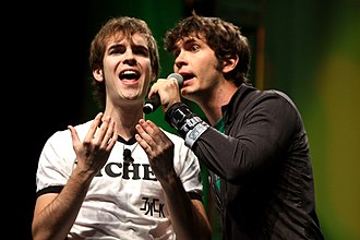 Toby Turner - Turner performing with Jack Douglass at VidCon 2012.