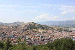 Tokat Province - Image: Tokat şehir panoraması 2012