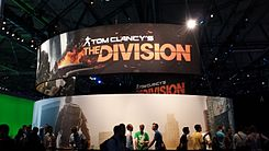 Tom Clancy's The Division booth - Gamescom 2013.jpg